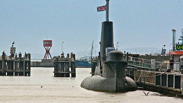 U-461 i H.M.S. OTUS 2013
